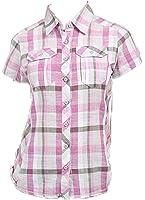 New Columbia Camp Henry Short Sleeve Shirt Medium Plaid