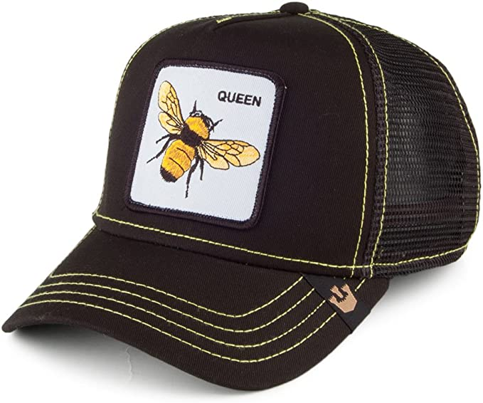 Gorra Trucker Queen Bee de Goorin Bros. - Negro - Ajustable ...