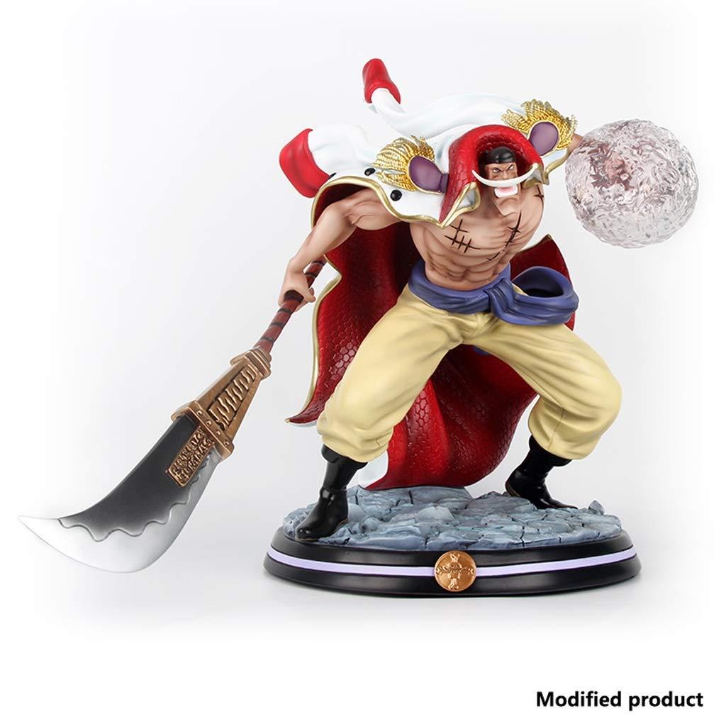 Siyushop One Piece Portrait of Pirates Whitebeard Erdbeben Obst PVC-Figur GK Action Figure for Kinder Erwachsene Und Anime-Fans High 12,6 Zoll