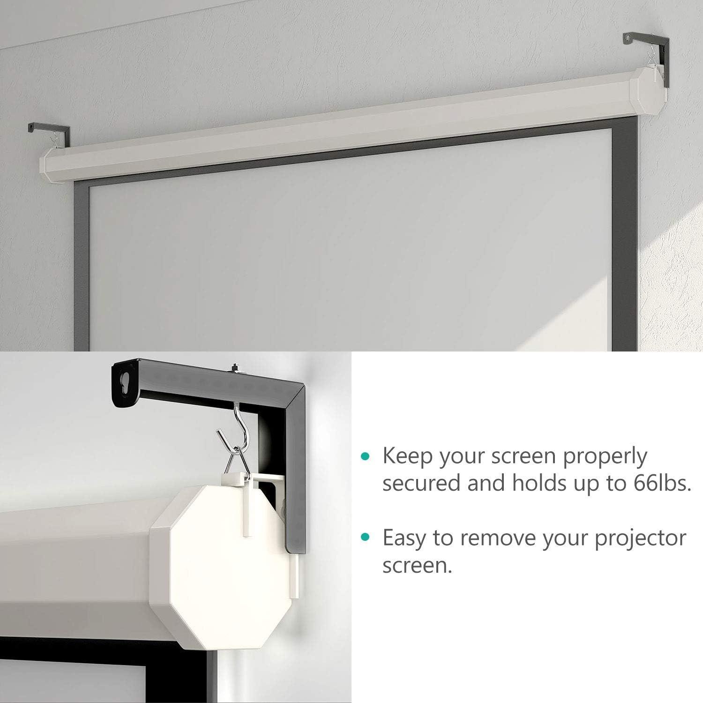 Amazon.com: Soporte de pared universal para proyector ...