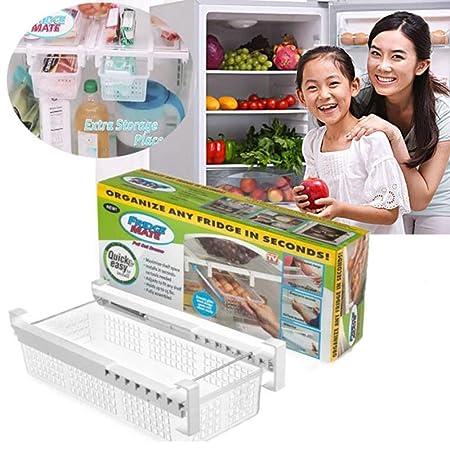 VISTANIA Nevera Mate Refrigerador Sacar Bin Y Organizador De ...
