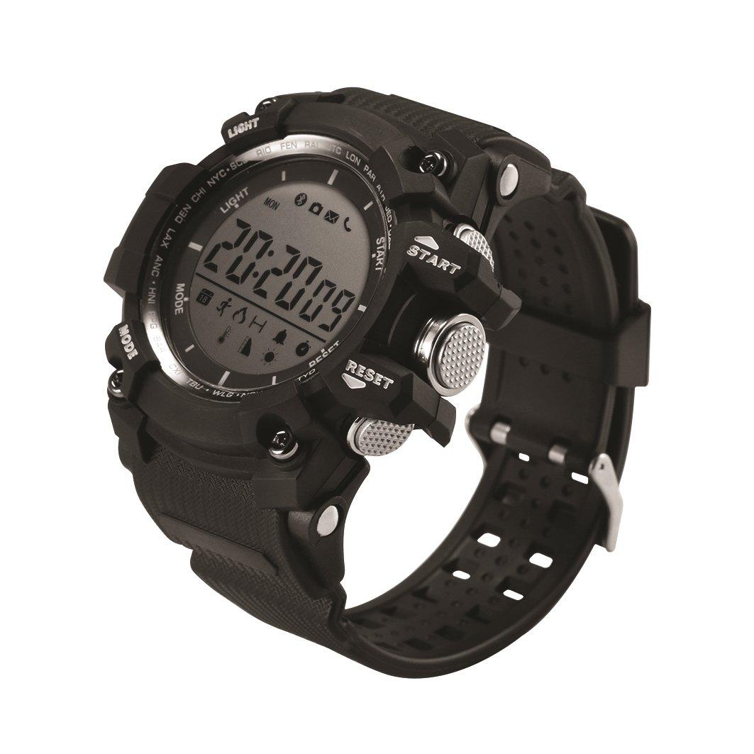 Muvit I/O SportTime Reloj de Actividad y Sueño, Negro ...