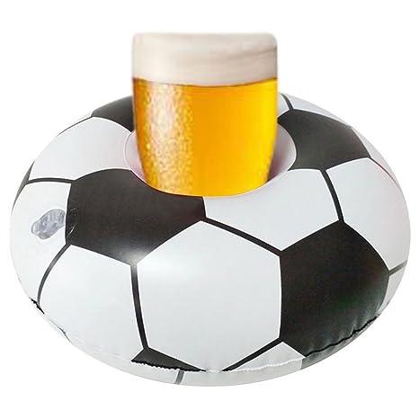 Tonewan Mini Piscina Bebida Cerveza Flotador Soporte de la Taza de Juguete Estante de Agua Flotante