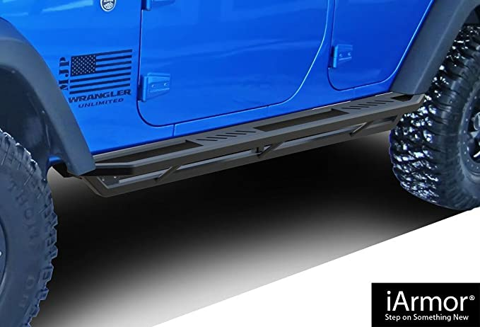 /& 2007-2010 Saturn Outlook Nerf Bars Side Steps Side Bars APS iBoard Running Boards Style Custom Fit 2009-2017 Chevy Traverse /& 2007-2016 GMC Acadia Exclude Denali