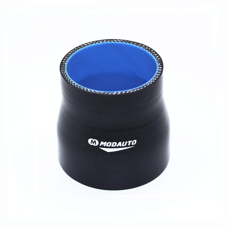 MODAUTO Manguera de Silicona Acoplador 3//4 Capas Diametro 51-57 mm Modelo E356B Tubo de Silicona Reductor Universal Alto Rendimiento