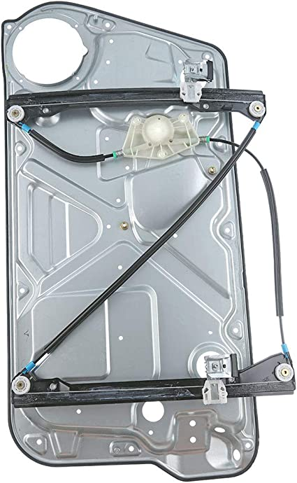 New Power Window Regulator with Panel fits 1998-2010 VW Beetle Front Left Driver Side 1C0837655C