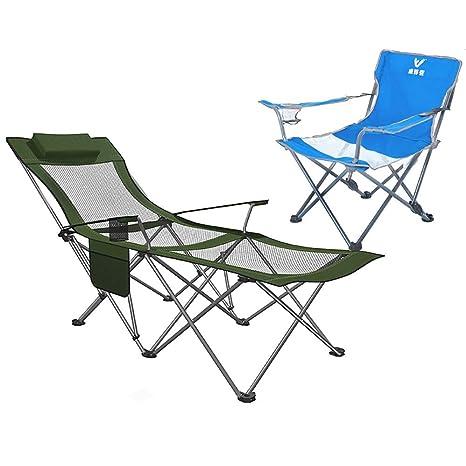 Sillas Camping, Silla Plegable para Acampar al Aire Libre ...