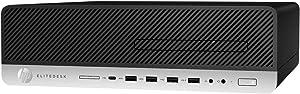 HP EliteDesk 800 G3 Desktop Computer Intel Core i5 (7th Gen) i5-7500 3.40 GHz 8 GB DDR4 SDRAM 1 TB HDD Windows 10 Pro 64-bit (1FZ04UT#ABA)
