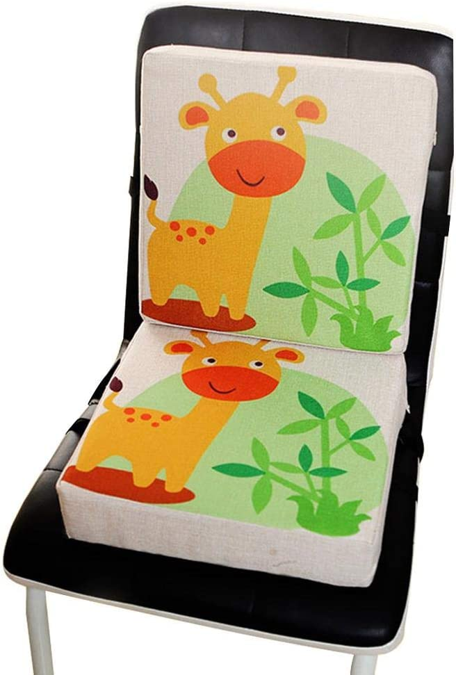 Tragbare Sitzerh/öhung strety Sitzerh/öhung f/ür Baby Kinder Sitzkissen Stuhl Sitzhilfe f/ür Kleinkinder Stuhl Erh/öhungskissen Hochstuhl Zusatzkissen Kinder Seat Pad