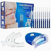 Teeth Whitening Kit, Home Teeth Whitening Gel Dental Care with Professional Bleaching...