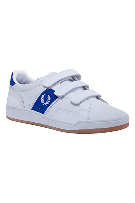 Fred Perry Leather Sports Sturgess - B6266 - Zapatillas Deportivas Para Hombre Blanco (White 183), Color Blanco, Talla 44: Amazon.es: Zapatos y complementos