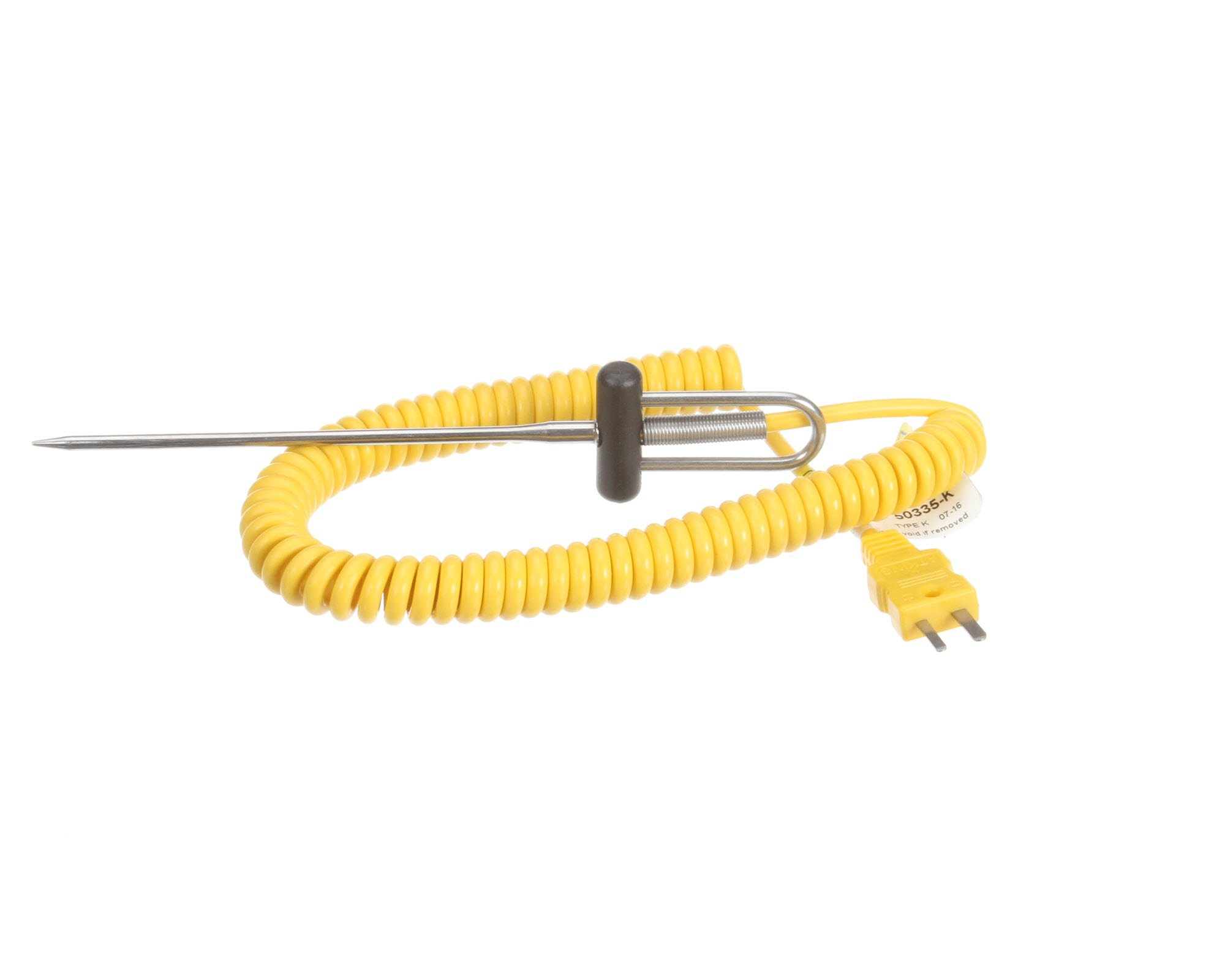 Cooper-Atkins 50335-K Type K 1/8'' Dia. Needle Probe Thermocouple Probe, -40 to +500 degrees F Temperature Range