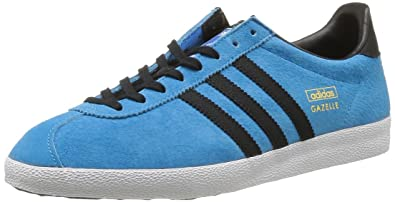 new arrival d8b77 cc758 adidas Originals Gazelle Og, Baskets mode homme - Bleu (BlesolNoir1Bleazu