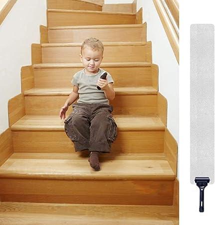 Cintas antideslizantes para escaleras de 32