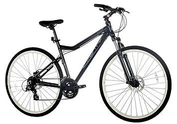 Monty Trekking- 7 - Bicicleta Unisex, Color Gris, 17