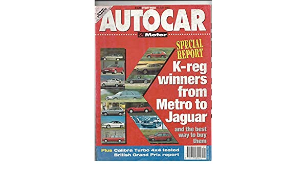 Autocar & Motor Magazine July 15 1992 at Amazons Entertainment Collectibles Store