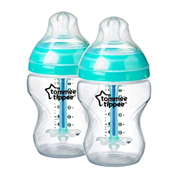 6 biberons Tommee Tippee Closer to Nature 260 ml