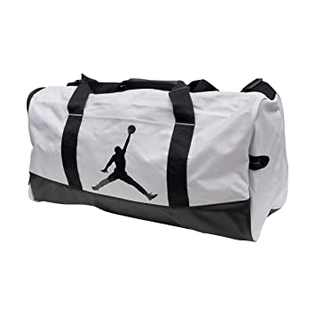 b0775a0072f Image Unavailable. Image not available for. Color: Nike Air Jordan Jumpman Duffel  Sports Gym Bag ...