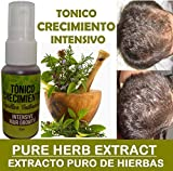 Intensive Herbal Hair Growth Tonic -Tonico INTENSIVO Crecimiento Contain: Pure Herbal Extract TONIC specific formula for hair loss. Benefits: • Promotes Hair Grow • Pure Herbal Extract HAIR LOSS formula • Strengthens Hair Roots • Creatin Prod...