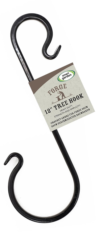Forge Tree Hook 30cm for Hanging Baskets & Bird Feeders Smart Garden