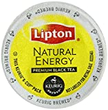 Keurig, Lipton Natural Energy Black Tea, K-Cup packs, 48-Count