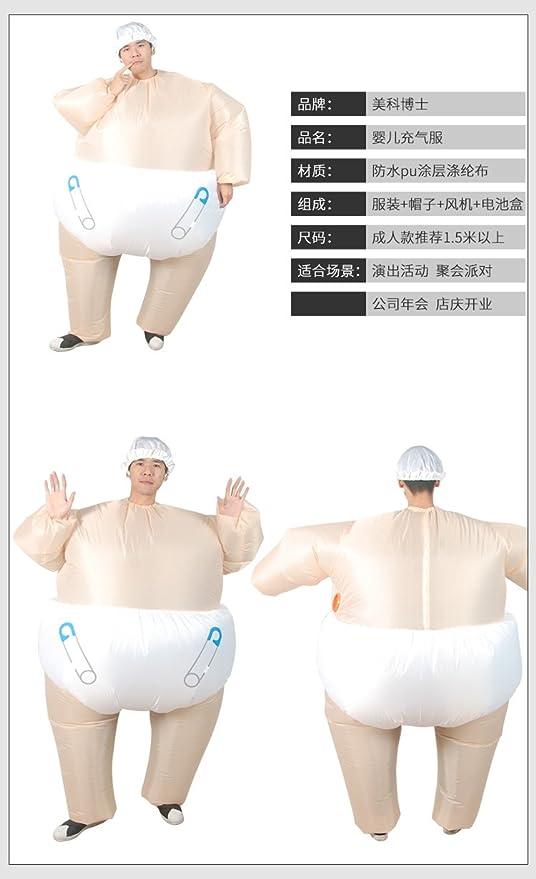 Amazon.com: Disfraz hinchable para adultos Sanling para ...