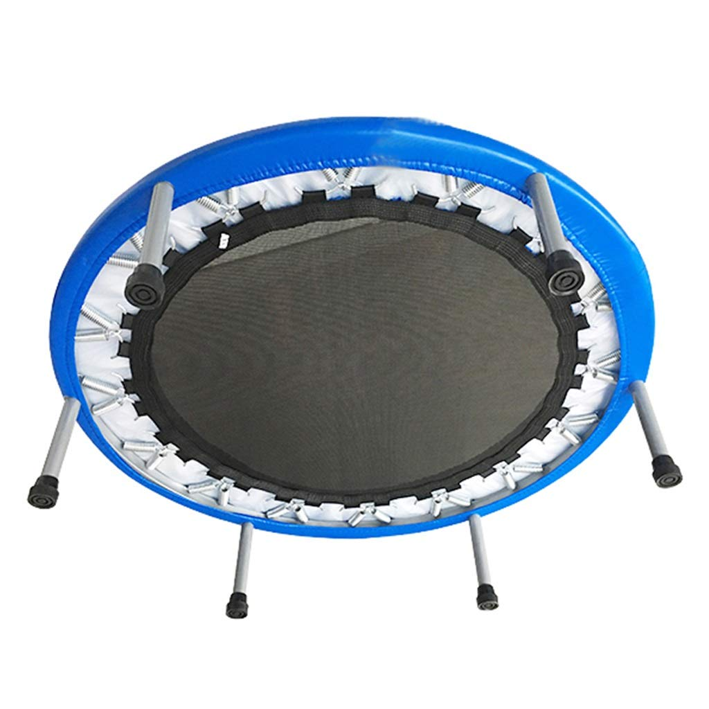 LKFSNGB 40-Inch Children's Trampoline Indoor Home Small Spring Trampoline Aerobics and Balance Exercises - Maximum Weight 100kg by LKFSNGB