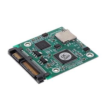 Cbcigbudg Tarjeta de Memoria SD SDHC TF IDE 3.5 Convertidor ...