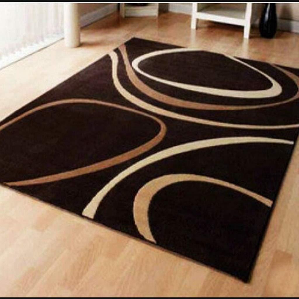 ヨーロッパのウールのカーペットのファッションリビングルームのベッドルームのフルルームのベッドサイドクッションシンプルなモダンなコーヒーテーブルの毛布 JSFQ (色 : A, サイズ さいず : 120CM×170CM) B07RWM1TR7 A 120CM×170CM