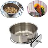 PINVNBY Parrot Feeding Cups Birds Food Dish