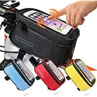 JOY COLORFUL Bicycle Bags Bicycle Front Tube Frame...