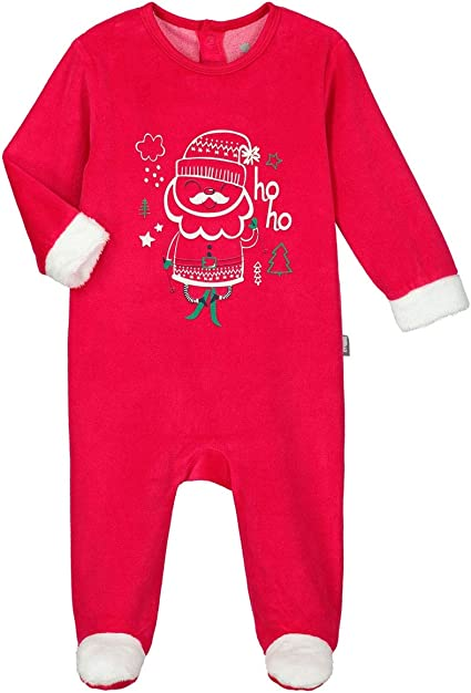 12 mois Petit B/éguin Taille Pyjama b/éb/é velours Lamapampa