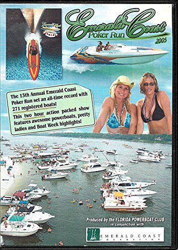- EMERALD COAST POKER RUN 2005 ~~ The 13th Annual Emerald Coast Poker Run (DVD)