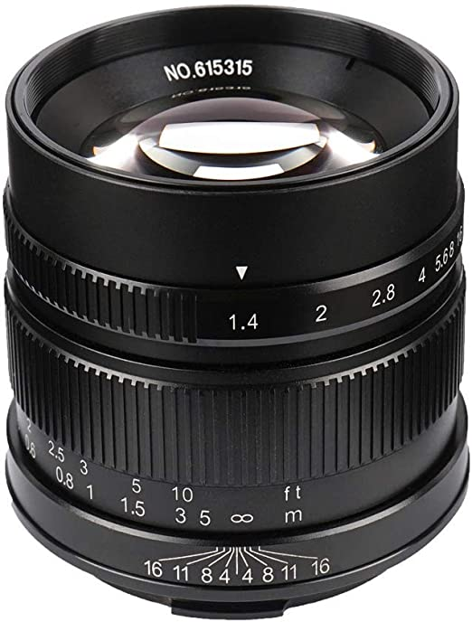 7artisans 55mm F1 4 Aps C Manual Fixed Lens For Leica T Kamera