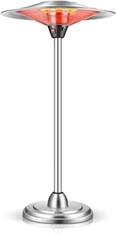 N / A Paraguas radiador de Infrarrojos eléctrica, calefacción de la Piscina Paraguas-calentada, en Forma de Paraguas eléctrica Calentamiento Externo Vertical, 110V / 220V, Blanco