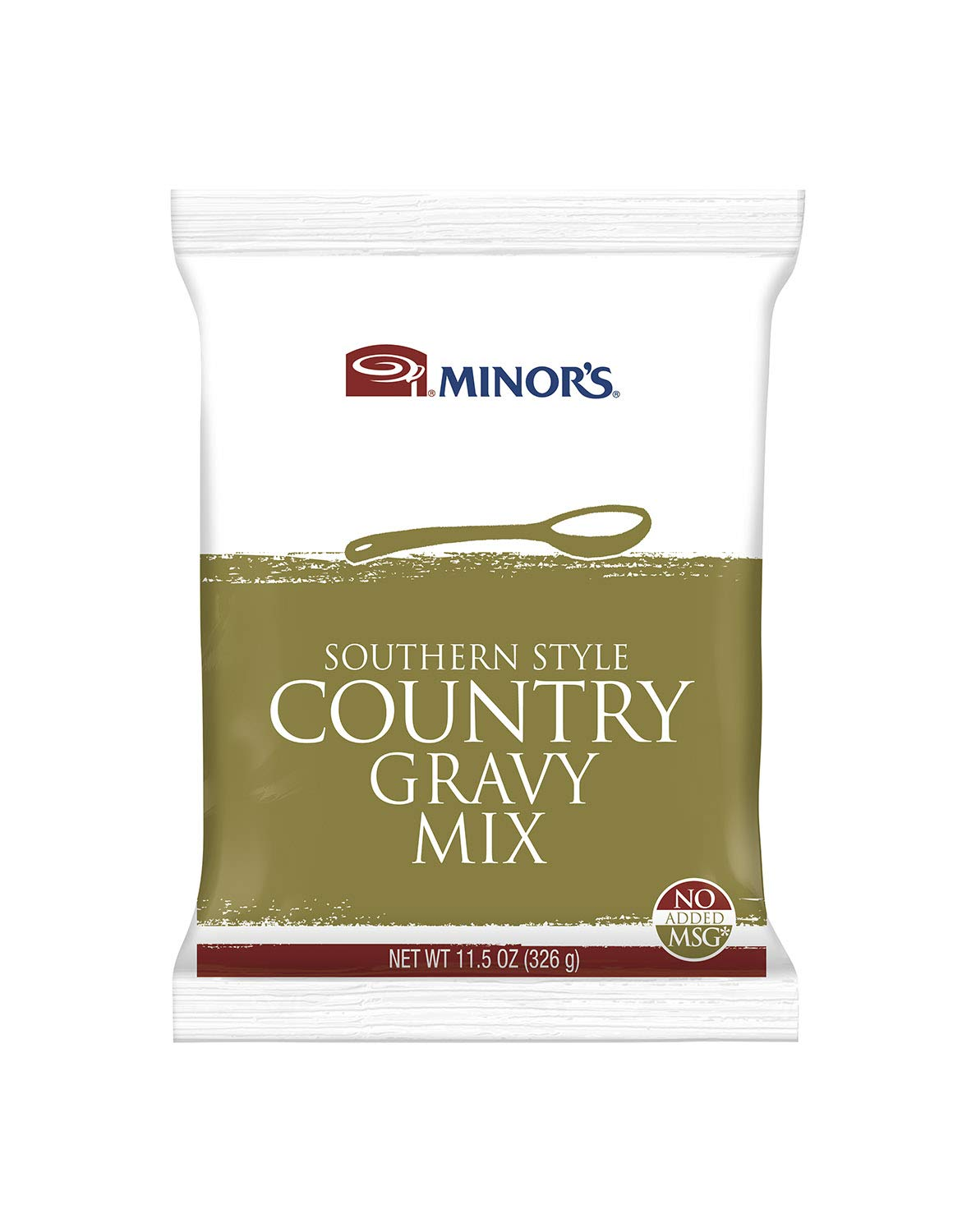 Nestle Minors No Added MSG Southern Style Gravy Mix, 11.25 Ounce - 12 per case.
