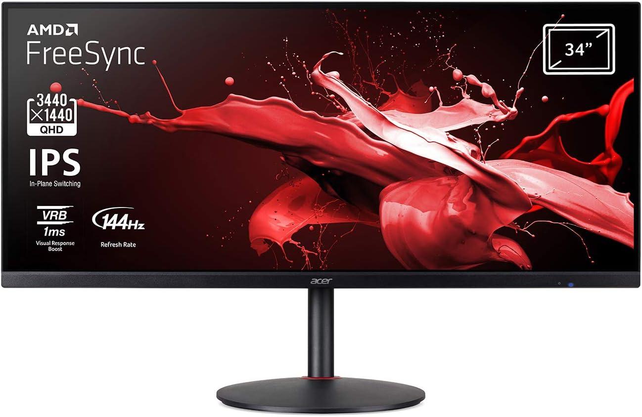 Acer Monitor Nitro XV340CKPbmiipphzx 86cm 34