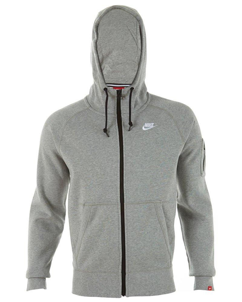 Nike herren jacke aw77 fleece hoody
