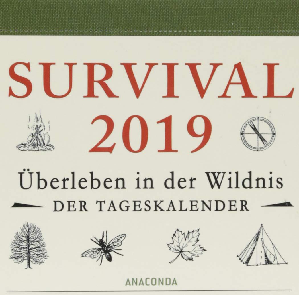Survival Kalender 2019: Tageskalender