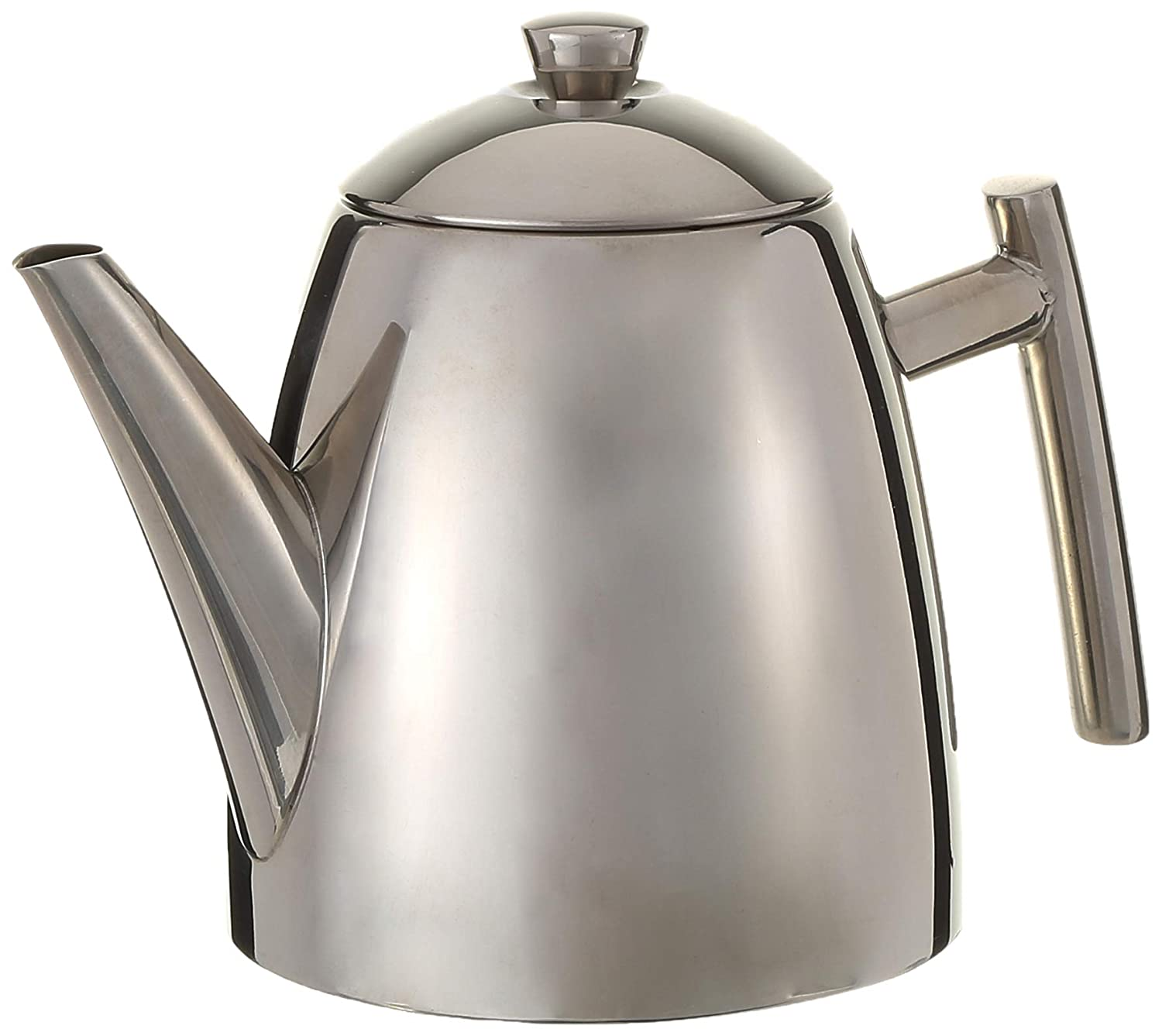 Frieling 18/10 Stainless Steel Primo Teapot with Infuser, 14-ounce 120