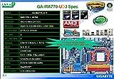 GIGABYTE GV N26 896H B GA GA-MA770-UD3 Ultra Durable 3 MB.