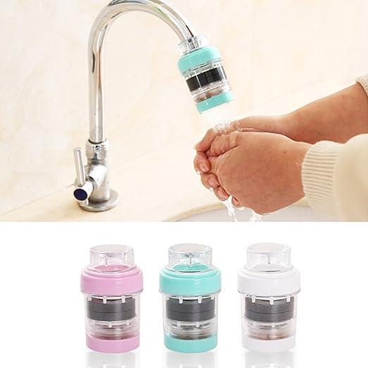 1 filtro de agua para grifo, filtro purificador, filtro de agua, purificador, filtro de grifo para baño y cocina, herramientas Tamaño libre blanco: Amazon.es: Hogar