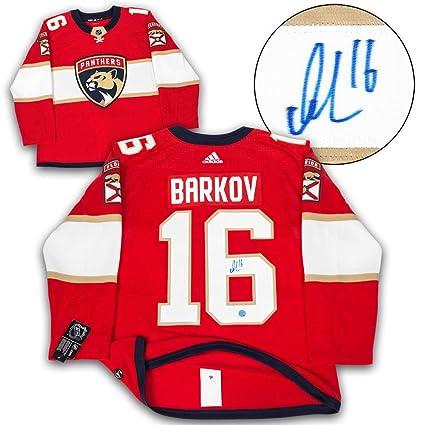b399fa69 Aleksander Barkov Florida Panthers Autographed Autograph Adidas ...
