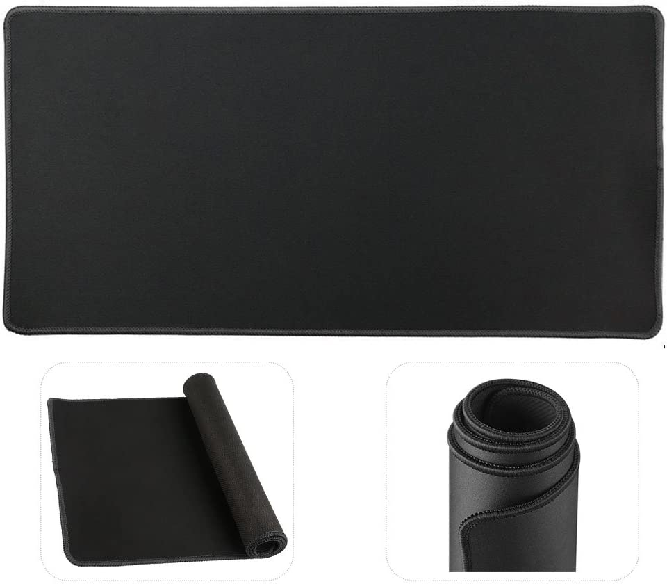Cmhoo Large Mouse Pad Gaming & Professional Computer Extra Large Mouse Pad/Mat 27.5IN (7030 chunse Black)