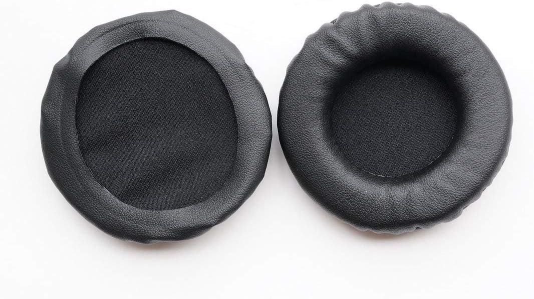 Headset Black earmuffes Ear Pad Earpads Leather Cushion Repair Parts for DENON DN-HP500 DN-HP500S Music Headphones
