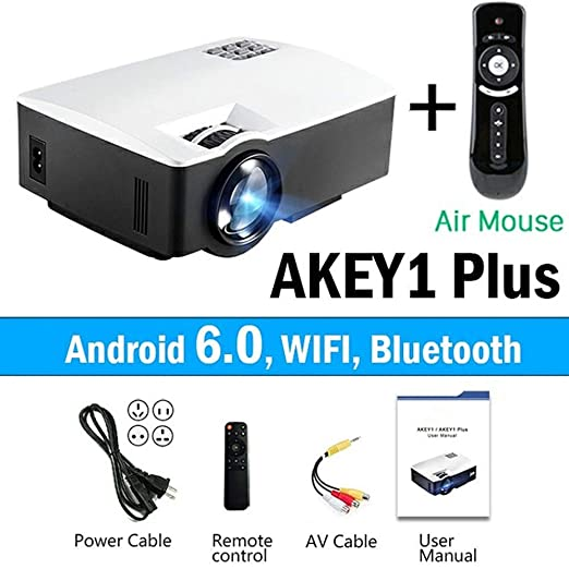 KAIDILA Proyector, proyector led akey1/plus para Home Theater ...