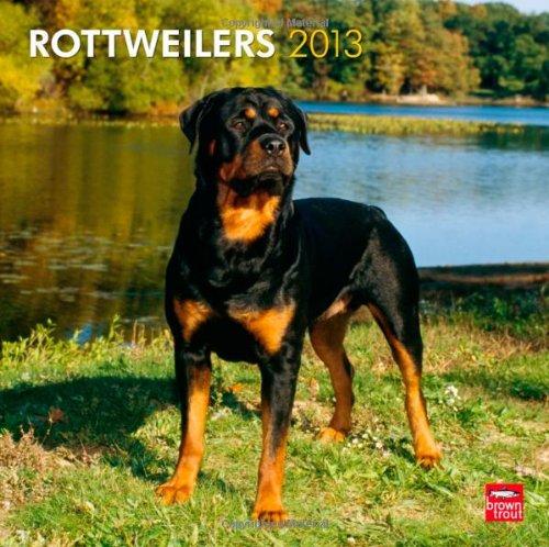 Rottweilers 2013 - Original BrownTrout-Kalender