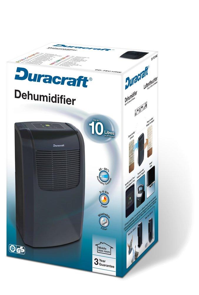 Duracraft DD-TEC10NE2 Deshumidificador 200 W Negro
