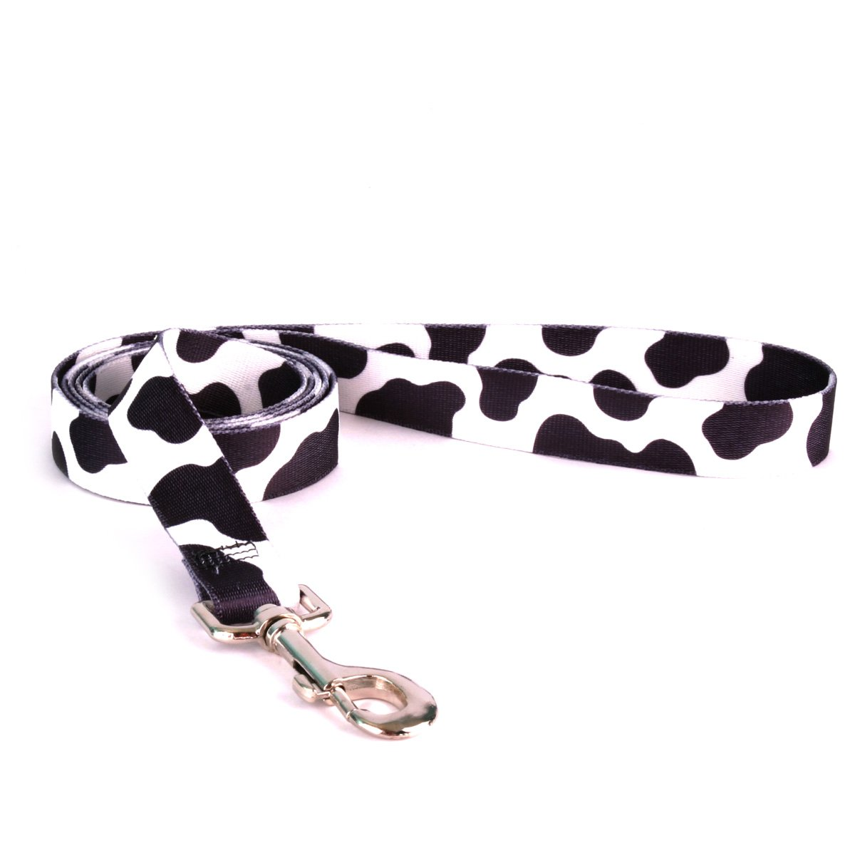 Yellow Dog Design Cow Dog Leash 1'' Wide And 5' (60'') Long, Large