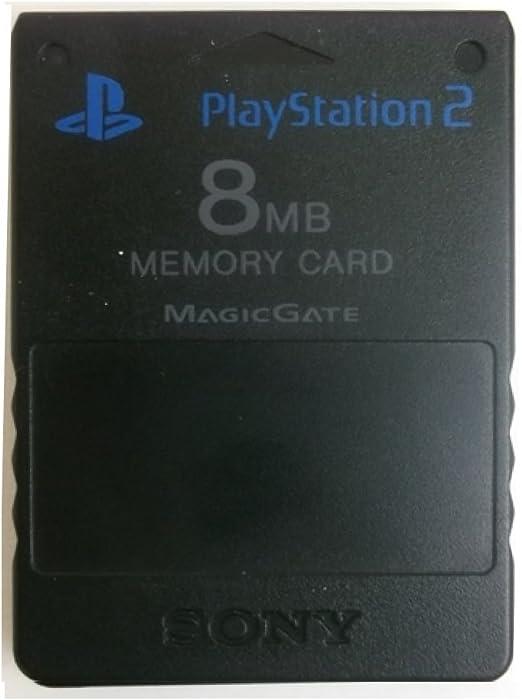 Tarjeta de memoria negra Cartucho de 8 MB para consola Sony ...